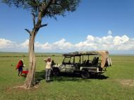 Two Longnecks Travel to AFRICA: Day 6, A Full Day in the Maasai Mara